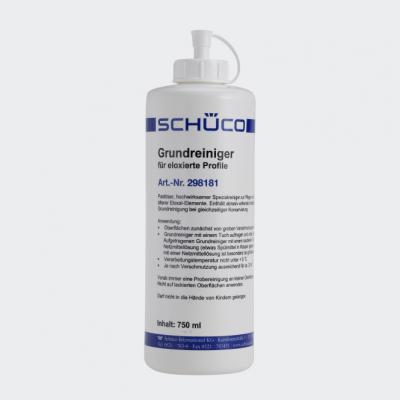 Basisreiniger voor geanodiseerde aluminiumelementen